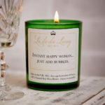 POP Candle ‰| Instant Happy Woman‰, Just Add Bubbles‰
