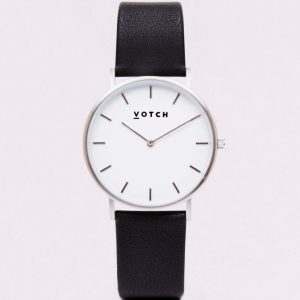 LIMITED EDITION // THE BLACK & SILVER WATCH | VOTCH