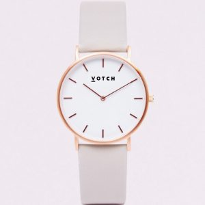 LIMITED EDITION // THE LIGHT GREY AND ROSE GOLD WATCH | VOTCH