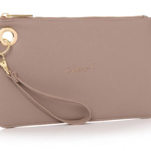 HOLY CHIC CLUTCH TAUPE | CIAO