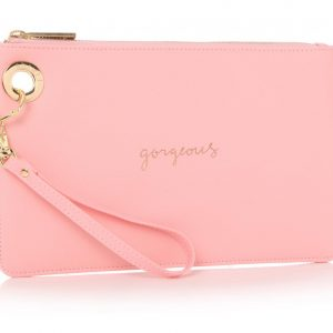 HOLY CHIC CLUTCH LIGHT PINK | GORGEOUS
