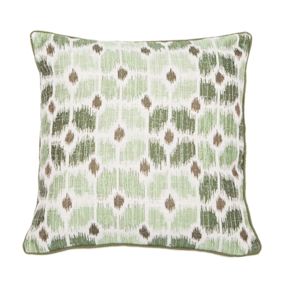 ARUBA CUSHION | GREEN | VEGAN HAVEN