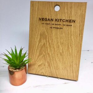 CHOPPING BOARDS | VEGAN KITCHEN NO MEAT