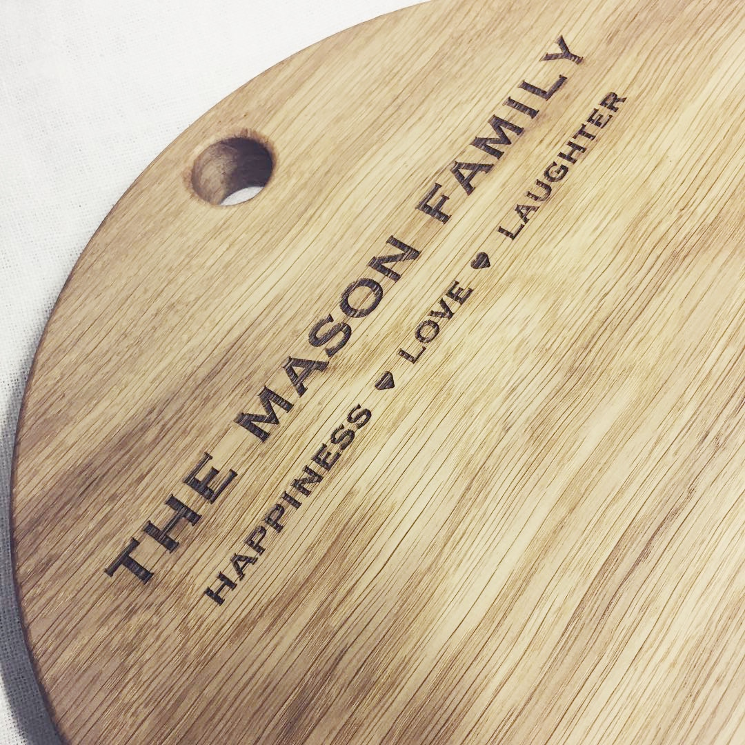 CHOPPING BOARD | PERSONALISATION