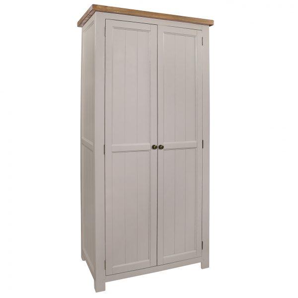 Gresford Grey 2 Door Wardrobe