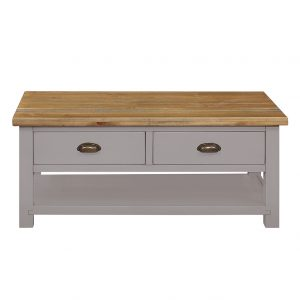 Gresford Grey 2 Drawer Coffee Table