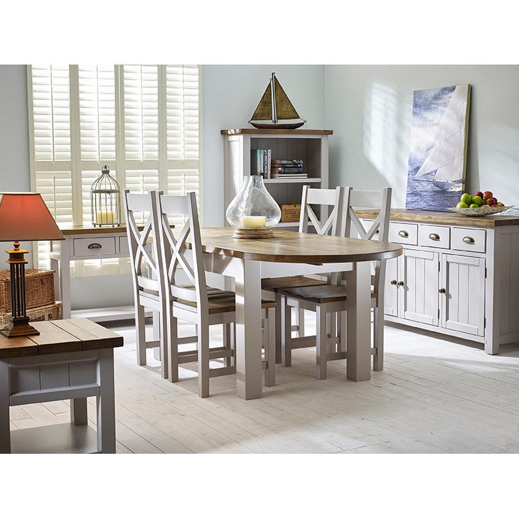 Gresford Grey 2 Drawer Console Table K.D