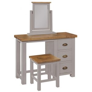 Gresford Grey 3 Drawer Dressing Table