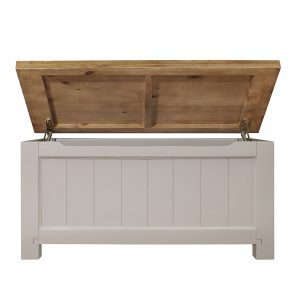Gresford Grey Blanket Box