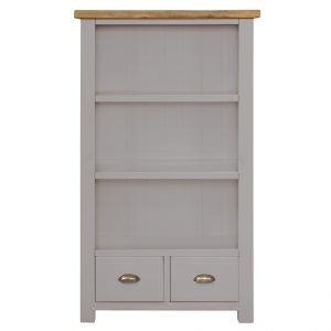 Gresford Grey Bookcase 900 x 1500
