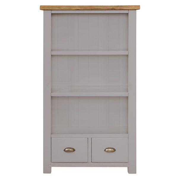 Gresford Grey Bookcase 900 x 1500
