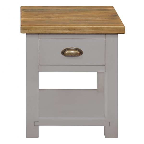 Gresford Grey Lamp Table
