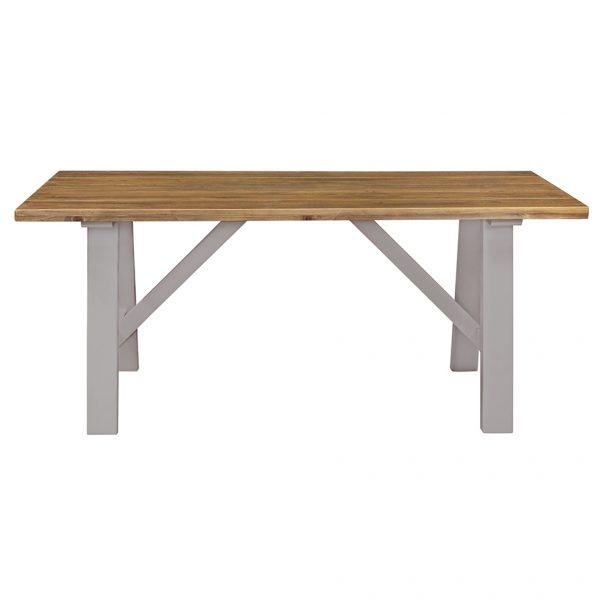 Gresford Grey Trestle Table 1800 x 900