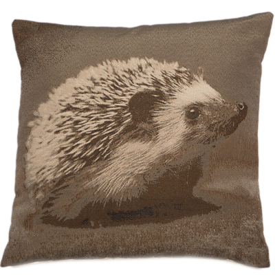 HEDGEHOG CUSHION | BROWN | VEGAN HAVEN