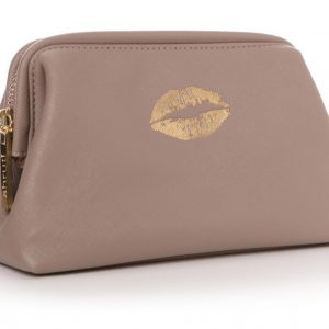 HOLY CHIC MAKEUP BAG | TAUPE