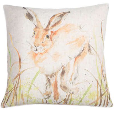 RABBIT CUSHION | ORANGE | VEGAN HAVEN