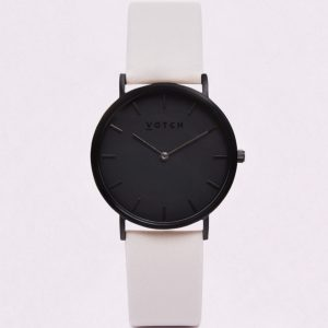 LIMITED EDITION // THE LIGHT GREY & BLACK WATCH | VOTCH