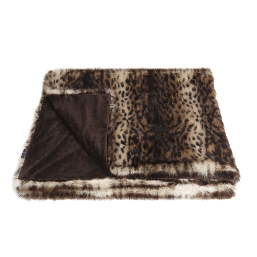 OCELOT | THROW | FAUX FUR