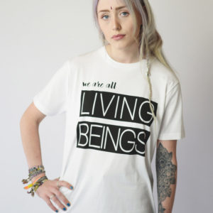 WE ARE ALL LIVING BEINGS | UNISEX T-SHIRT