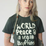 VEGAN BOYFRIEND | CROPPED T-SHIRT