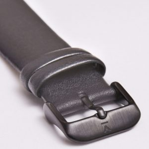DARK GREY WITH BRUSHED BLACK BUCKLE | 20MM | VOTCH
