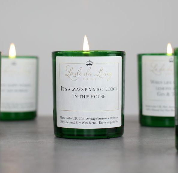 POP Candle | It's Always Pimms O'Clock In This House