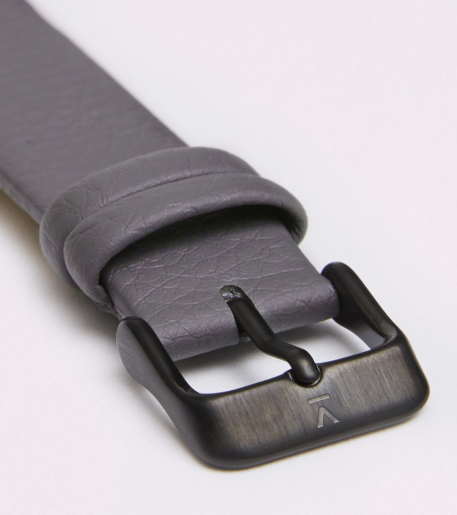 SLATE GREY WITH BRUSHED BLACK BUCKLE | 18MM | VOTCH