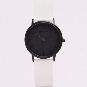 THE ALL BLACK FACE WITH OFF WHITE STRAP | VOTCH