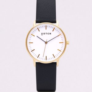 THE GOLD FACE WITH BLACK STRAP   VOTCH