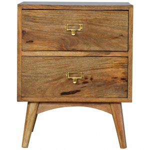 Mango Hill 2 Drawer Bedside