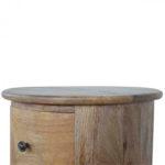 Mango Hill 3 Drawer Slim Drum Chest