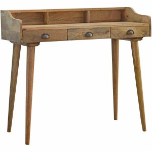 Mango Hill 3 Drawer Writing Desk