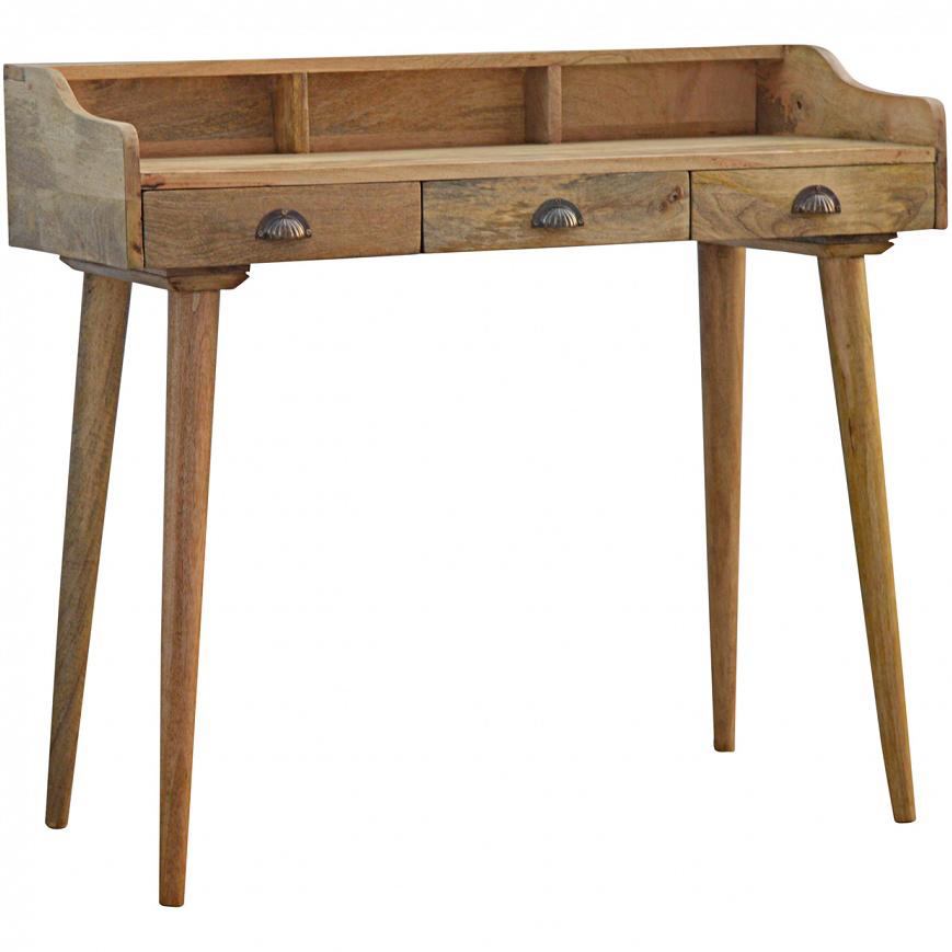 Mango Hill 3 Drawer Writing Desk