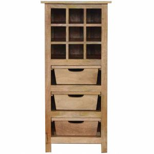 Mango Hill 9 Bottle Wine Cabinet