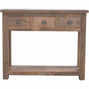 Mango Hill Hallway Console Table with 3 Drawers