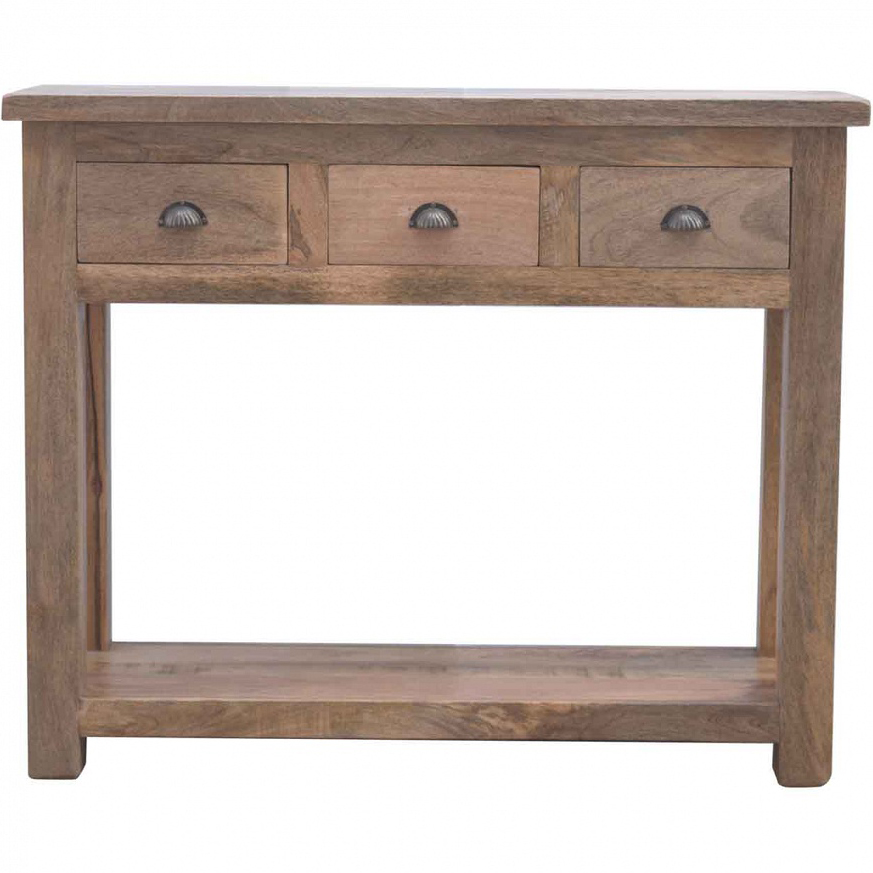 new arrival f4d9e c79ba Mango Hill Hallway Console Table with 3 Drawers