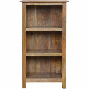 Mango Hill Rustic Bookcase 3 Shelves