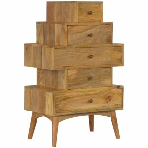 Mango Hill Style Tower Drawer Cabinet