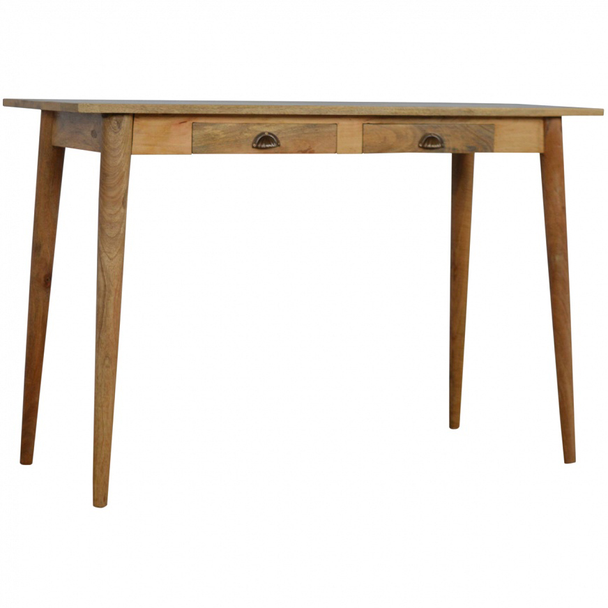 mango hill writing desk with 2 drawers vegan haven. Black Bedroom Furniture Sets. Home Design Ideas