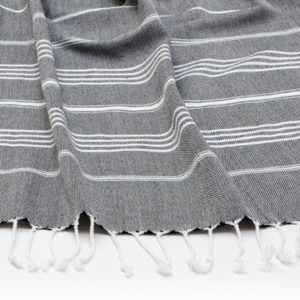 Super Soft Charcoal Towel