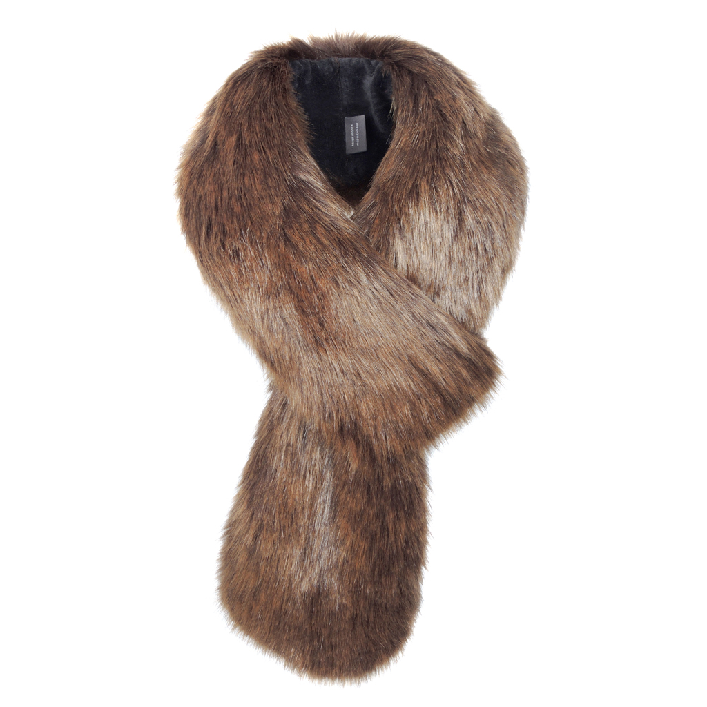 GOLDEN BEAR | FAUX FUR | LOOP SCARF