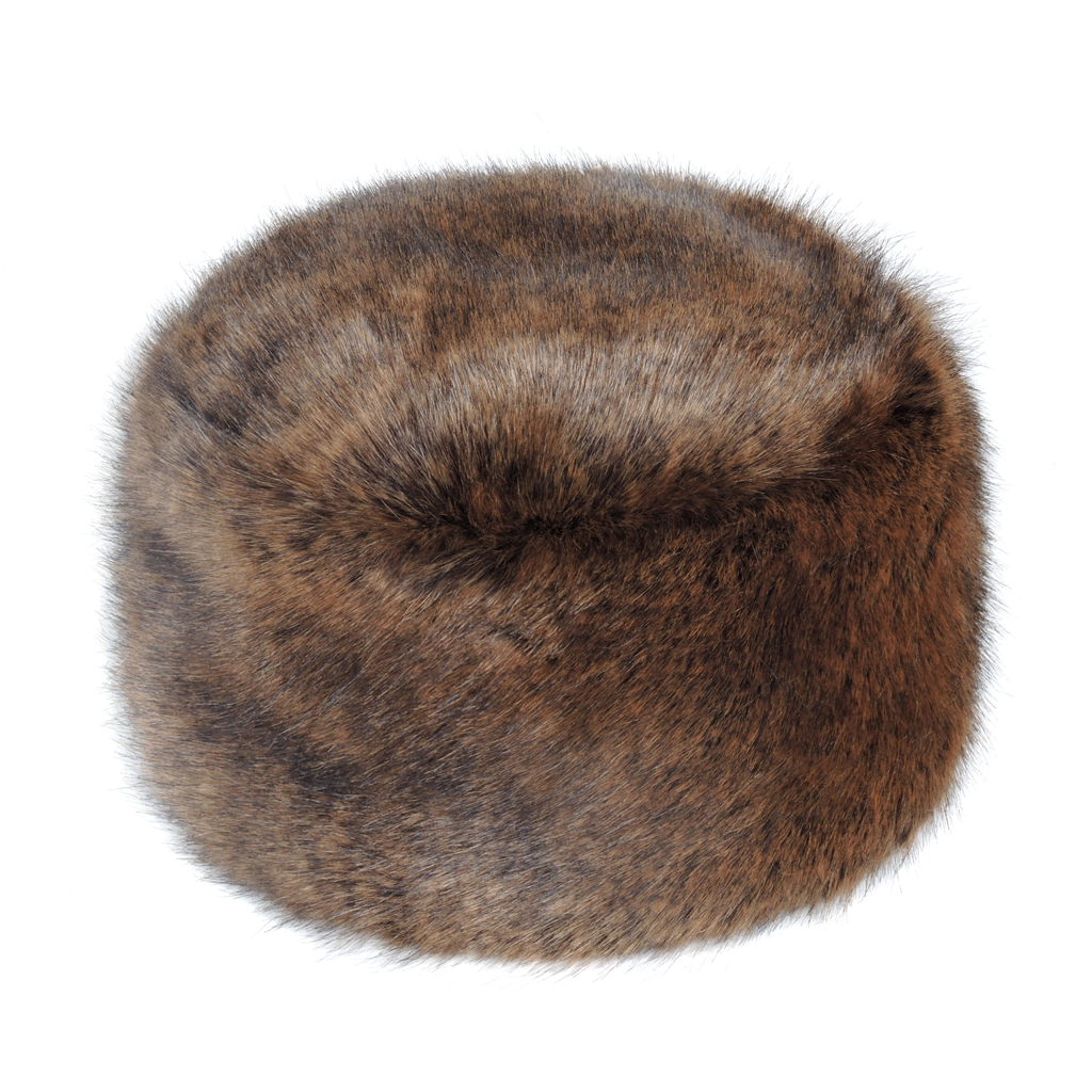 GOLDEN BEAR | FAUX FUR | BOX HAT