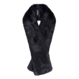 JET | FAUX FUR | LONG TIPPET SCARF