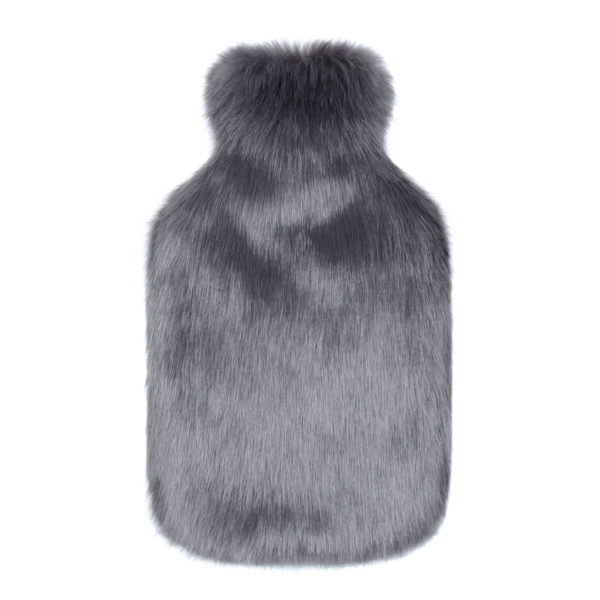STEEL | FAUX FUR | HOT WATER BOTTLE