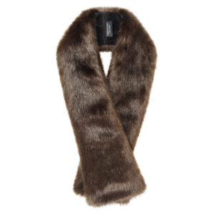 TREACLE | FAUX FUR | LONG TIPPET SCARF