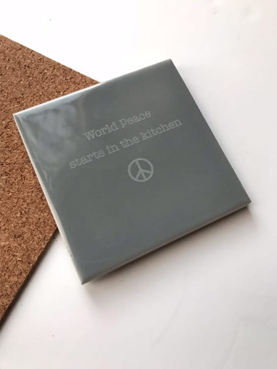 World Peace Starts In The Kitchen | Coaster