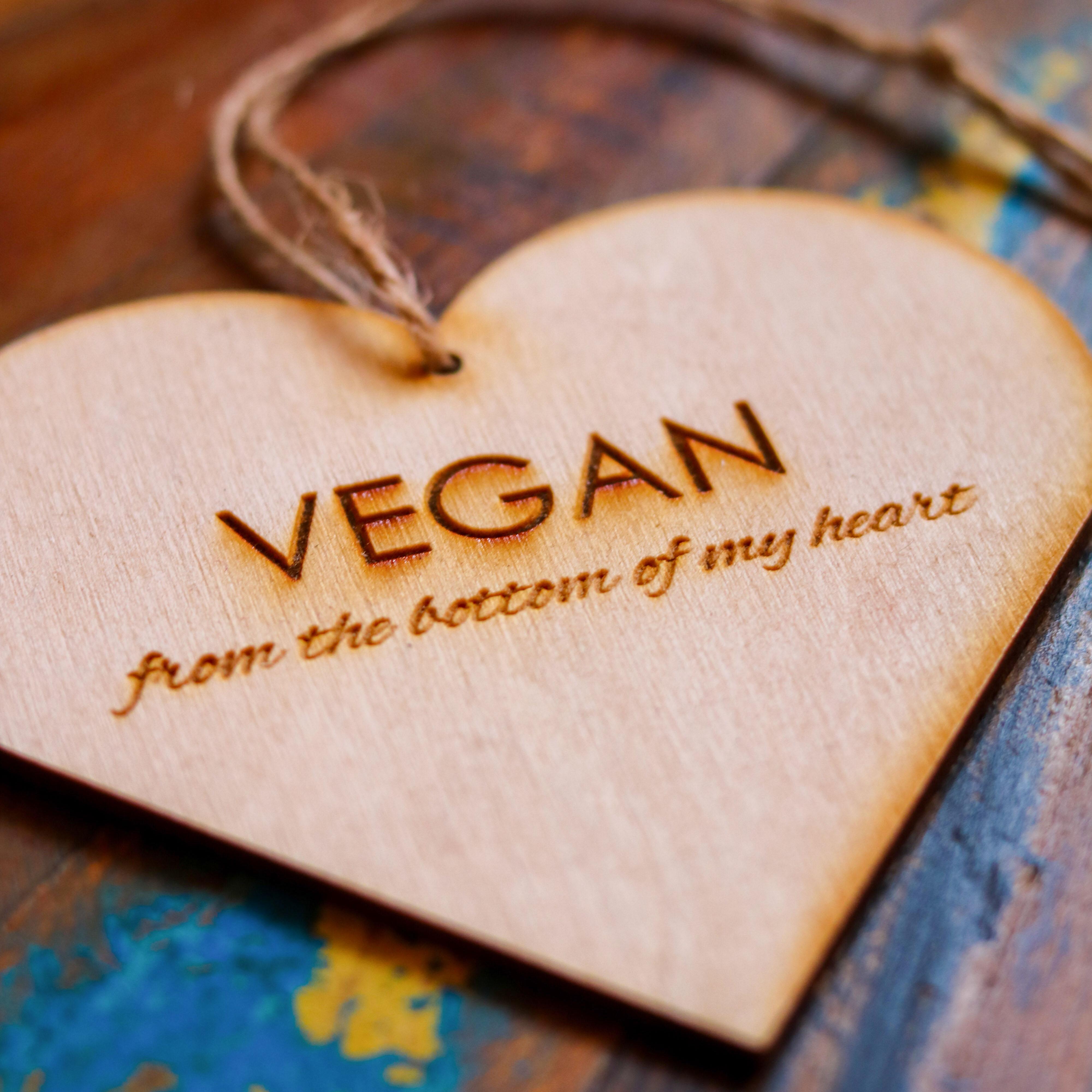 VEGAN From The Bottom Of My Heart | Vegan Heart