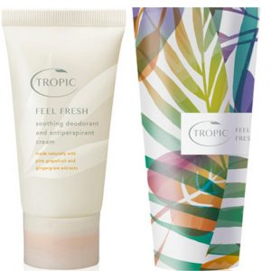 FEEL FRESH | SOOTHING DEODORANT AND ANTIPERSPIRANT