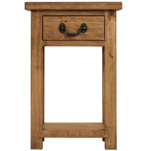 Gresford Rustic 1 Drawer Console Table