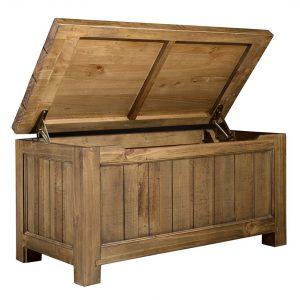 Gresford Rustic Blanket Box